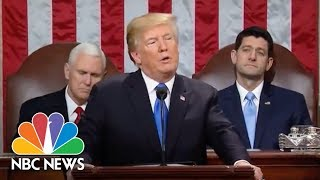 President Donald Trump Calls For Immigration Reform In State Of The Union Address | NBC News