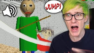 Playing Baldi's Basics Using ONLY Voice Commands