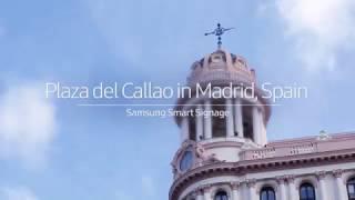 [Case Study] Samsung Smart LED Signage - Plaza del Callao