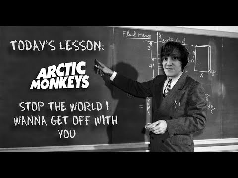 How To Play Stop The World I Wanna Get Off With You - Arctic Monkeys Guitar Lesson w/Tabs