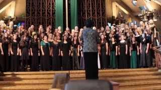 """""""Music Down in my Soul"""" - California ACDA Coastal Region Honor Choir - Women's Honor Choir 2014"""