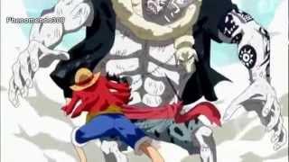Luffy vs Hody Jones