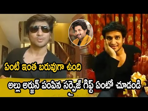 18 Pages team surprises hero Nikhil Siddharth on his birthday