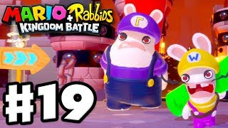 Mario + Rabbids Kingdom Battle - Gameplay Walkthrough Part 19 - Bwario and Bwaluigi!