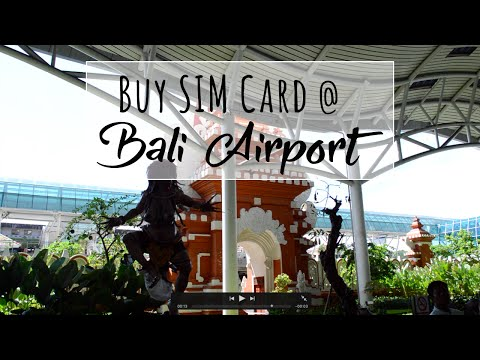 Bali PrePaid SIM Card - Best Place to Buy is at Airport from Telkomsel Kiosk at Arrivals