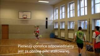 Określanie kompetencji zawodnika przy dograniu piłki.
