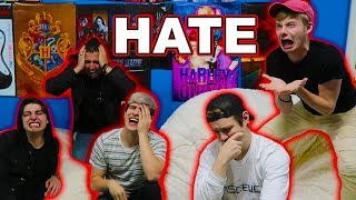 READING HATE COMMENTS W/ ROOMMATES