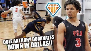 Cole Anthony UNLOCKED THE DEEP-RANGE DEADEYE BADGE IN DALLAS!! | Session 1 EYBL Highlights