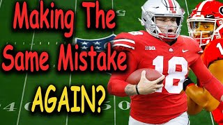 Is Justin Fields Gonna Make Tate Martell Transfer? (My Reaction)