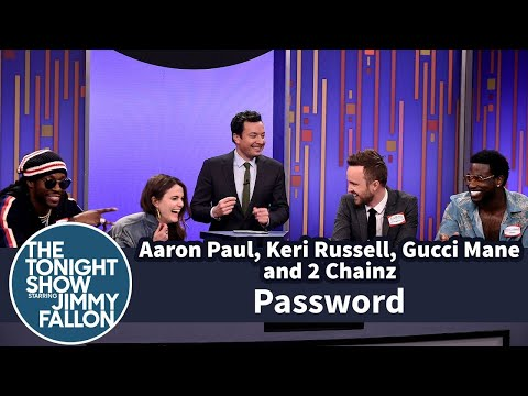 Password with Aaron Paul, Keri Russell, Gucci Mane and 2 Chainz