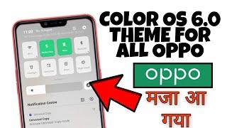 OPPO (ColorOS) theme Dark iOS 11 HD   Realme All  A37 A3s F7 F9
