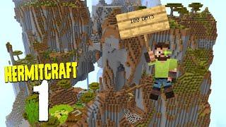 Hermitcraft 8: 1 - The first 100 Days of HermitCraft
