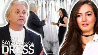 The Clock Is Ticking And David Has To Find A Dress For This Bride ASAP! | Say Yes To The Dress UK