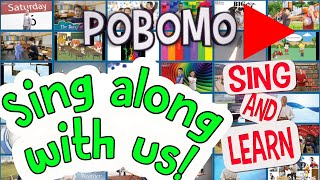 PoBoMo Sing and Learn English Trailer   Children's Songs for Learning English   Kids' Music