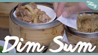 British Guy Reacts to Chinese Food (Dim Sum) feat. Mira's Garden