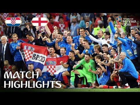Croatia v England 2-1