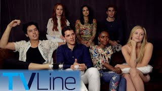 Riverdale Cast Interview | Comic-Con 2017 | TVLine