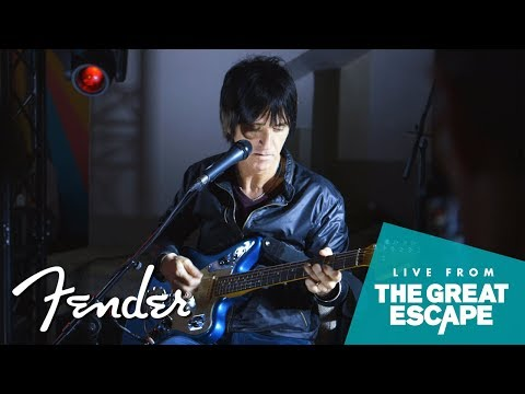 In Conversation with Johnny Marr | The Great Escape Festival 2018 | Fender