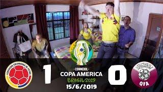 Colombia 1 vs Qatar 0 | Reacciones | Copa America Brasil 2019