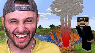 Beating MINECRAFT With a FUNNY Nuke Mod...