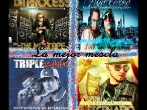 Manny Montes 2011 lo mas nuevo (mix)