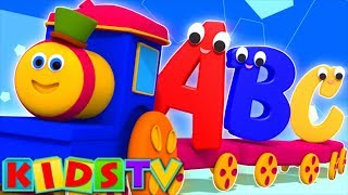 abc songs | kids tv show | nursery rhymes playlist for kids | alphabet adventure | bob the train