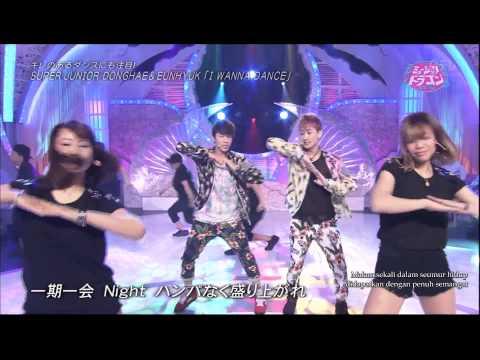 Donghae & Eunhyuk - I Wanna Dance Live Performance // with Indonesian Translation //