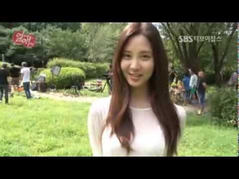 130911 SNSD Seohyun - Passionate Love interview/BTS