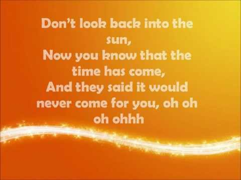 Don't Look Back Into The Sun - The Libertines Lyric Video