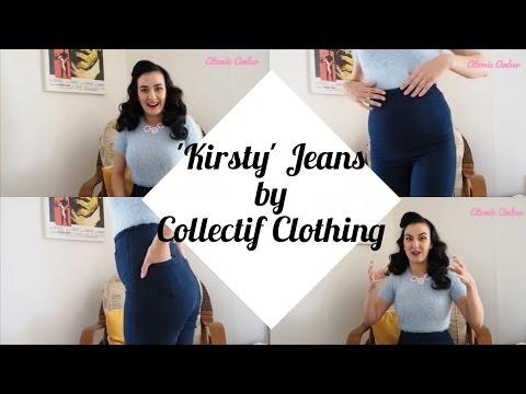 Collectif Vintage Kirsty Denim Jeans