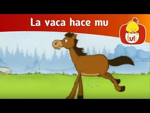 La vaca hace mu -El caballo, Luli TV