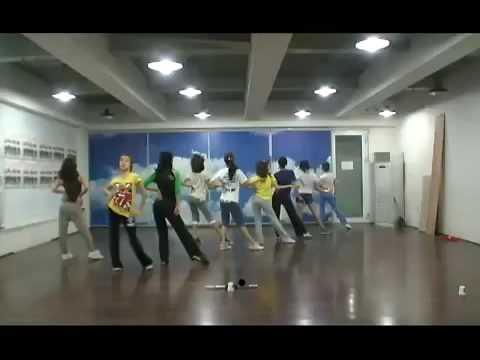 SNSD Genie Dance Practice 090608 Girl Generation