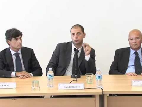 Il Sottosegretario all'economia Alberto Giorgetti a Enada 2010