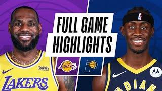LAKERS AT PACERS | FULL GAME HIGHLIGHTS | May 15, 2021