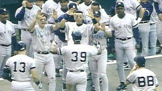 1996 ALCS Gm5: Fielder, Strawberry go back-to-back