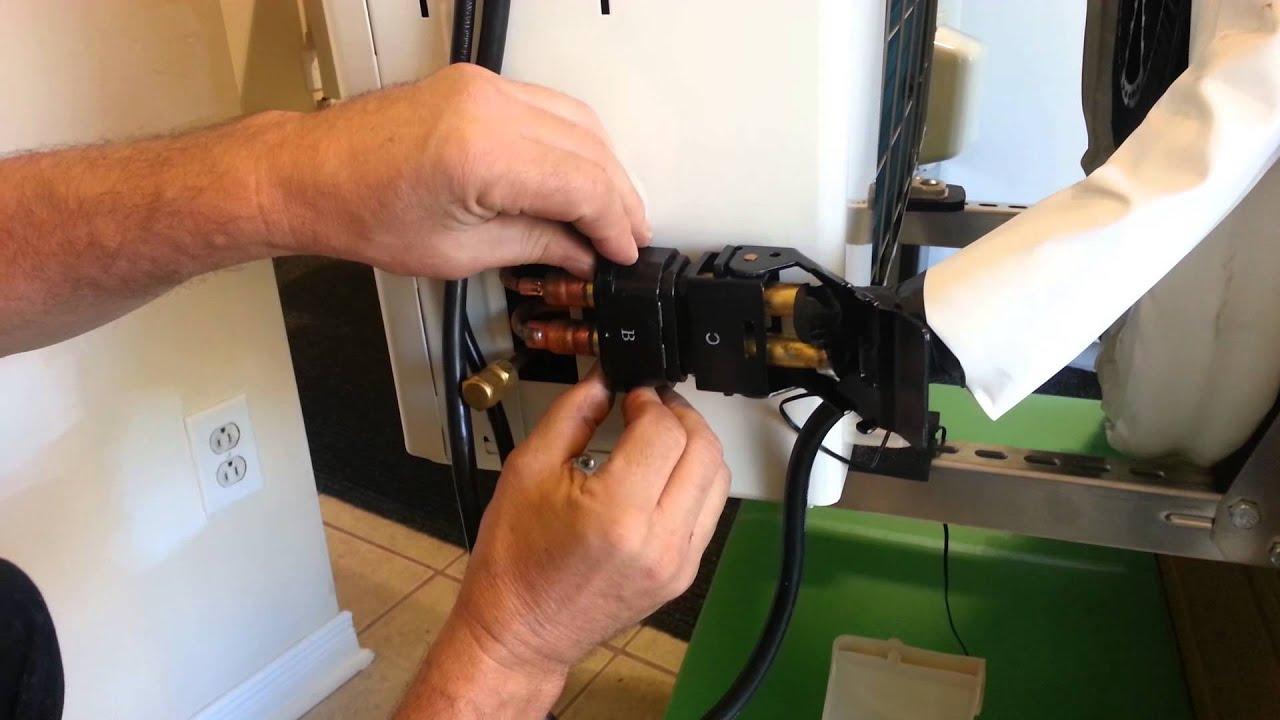 Quick Connect Ductless Mini Split Heat Pump Diy Connection