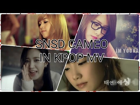 SNSD CAMEO'S IN KPOP MV