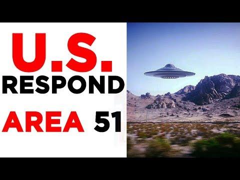 "U.S. Responds to ""Area 51 Raid"" & BEST Storm Area 51 Plan Joke Event"