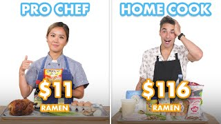 $116 vs $11 Ramen: Pro Chef & Home Cook Swap Ingredients | Epicurious