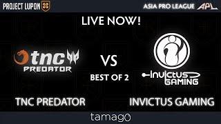 TNC Predator vs Invictus Gaming Game 1 (BO2) | Asia Pro League