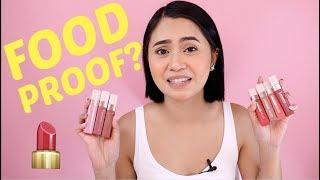 LIPPIE FOR SNACKERS? L'Oreal Les Macaron Scented Liquid Lipstick | Anna Cay ♥