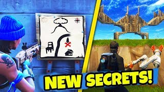 Fortnite Week 4 Search Between Gas Station, Soccer Pitch, Stunt Mountain
