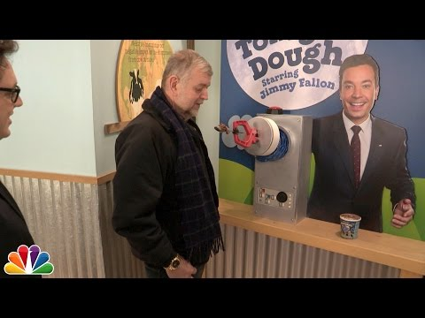 Jimmy Fallon Surprises Fans at Ben & Jerry's