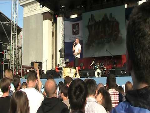 RE-pac - Дай мне повод. ЖАРА-Фест, ВВЦ, Москва (30.06.2012) [Live]