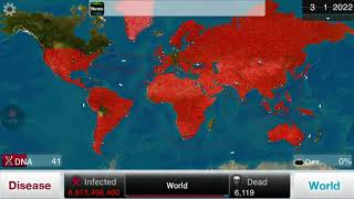 Killing all humans with Fungus — Plague Inc.