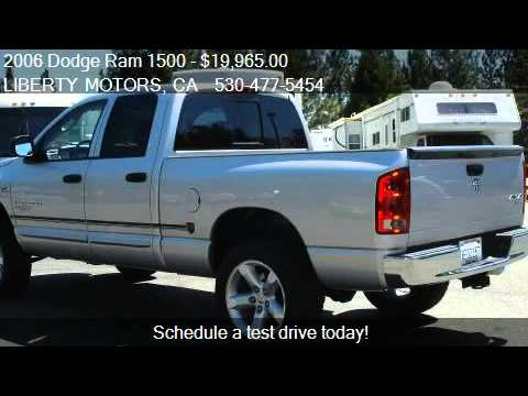 2006 dodge ram 1500 slt quad cab 4 7l long bed with canopy. Black Bedroom Furniture Sets. Home Design Ideas
