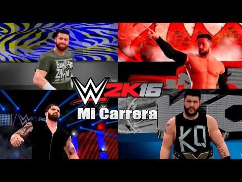 WWE 2K16: Mi Carrera-