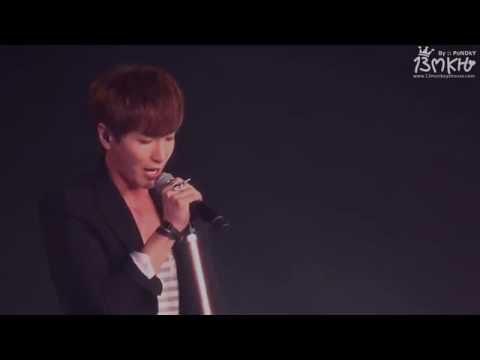 [HD-Fancam] 150110 SS6 in BKK  Leeteuk solo - Lost Star [13MKH