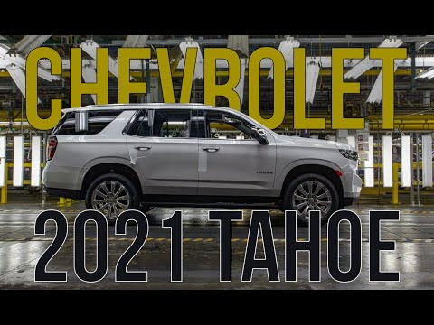 All New 2021 Chevrolet Tahoe & Suburban Full Details and specs.