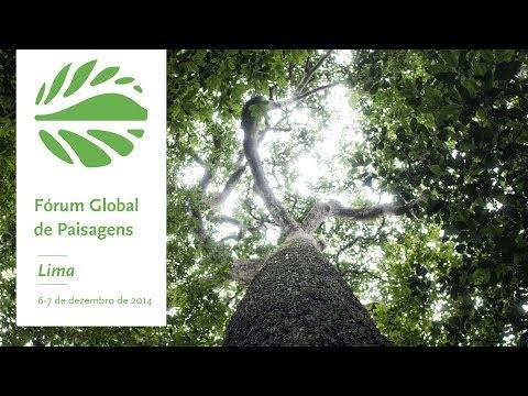 Convite para o Fórum Global de Paisagens 2014